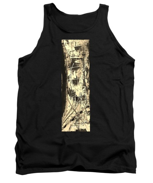 Tank Top featuring the painting Patience by Carol Rashawnna Williams