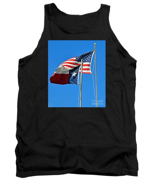 Patriot Proud Texan  Tank Top