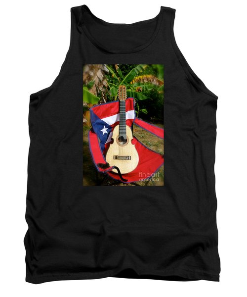 Patriotic Cuatro Tank Top by The Art of Alice Terrill