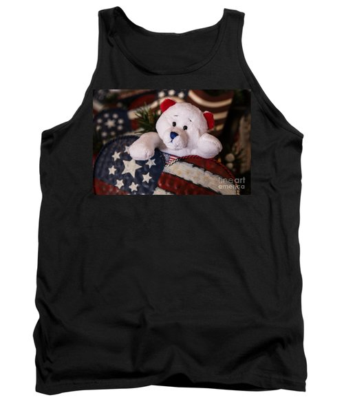 Patriotic Teddy Bear Tank Top
