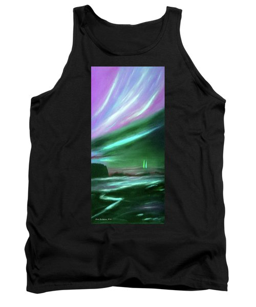 Peace Is Colorful 2 - Vertical Painting Tank Top
