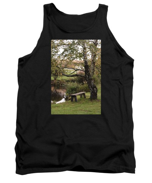 Tank Top featuring the photograph Peaceful Retreat by Margie Avellino