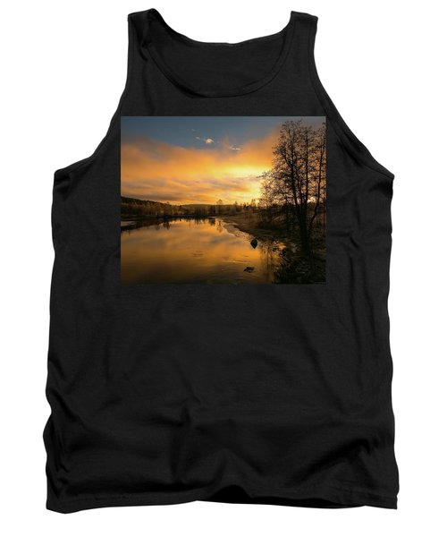 Peaceful Thoughts Tank Top by Rose-Marie Karlsen