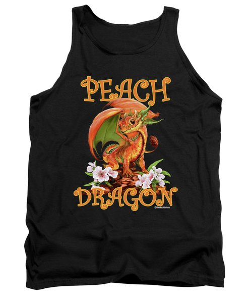 Peach Dragon Tank Top