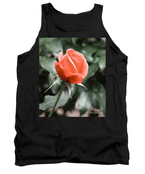 Peachy Rose Tank Top by Rand Herron