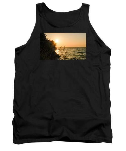 Tank Top featuring the photograph Peaking Sunset by Monte Stevens