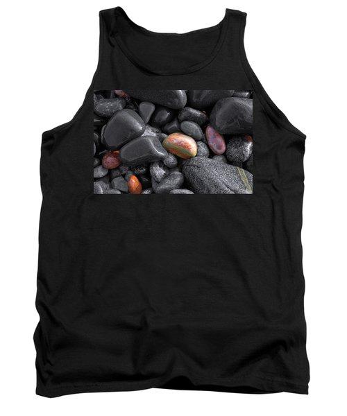 Pebble Jewels   Tank Top