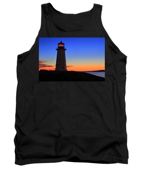Peggy's Point Lighthouse, Nova Scotia Tank Top