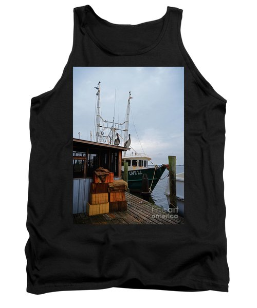 Pelicans Looking For Lunch Tank Top