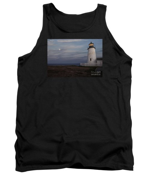 Pemaquid And Full Moon Tank Top