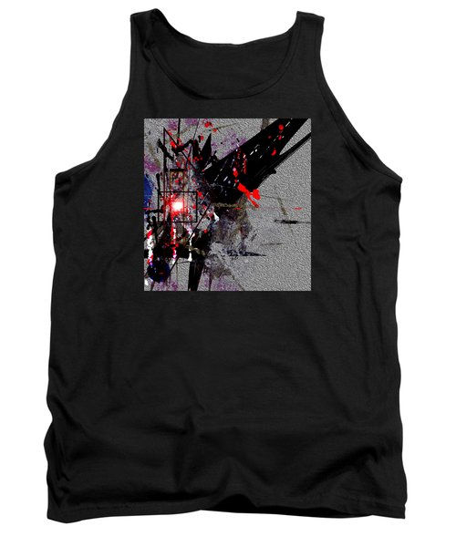 Tank Top featuring the painting Penman Original-230 Point Of Impact by Andrew Penman
