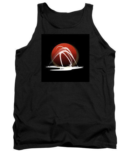 Tank Top featuring the painting Penman Original-303 by Andrew Penman
