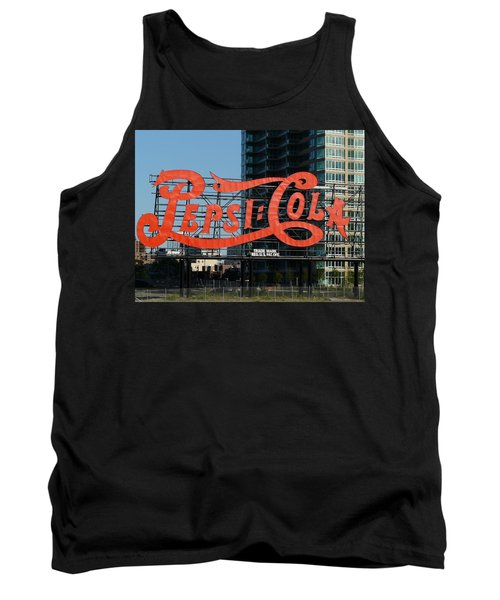 Pepsi-cola Tank Top by Valerie Ornstein
