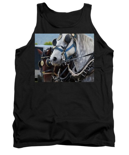 Percheron Horses Tank Top