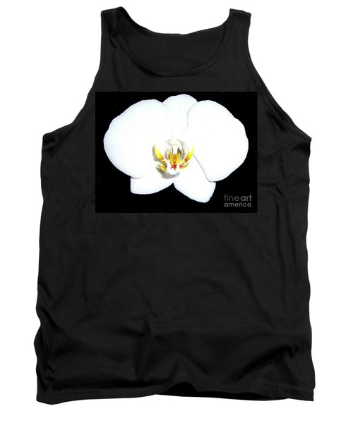 Perfect White Orchid Tank Top