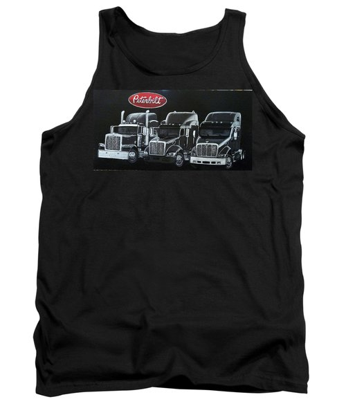 Peterbilt Trucks Tank Top