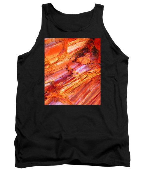 Petrified Abstraction No 1 Tank Top by Andreas Thust