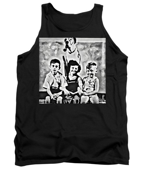 Philly Kids With Petey The Dog Tank Top