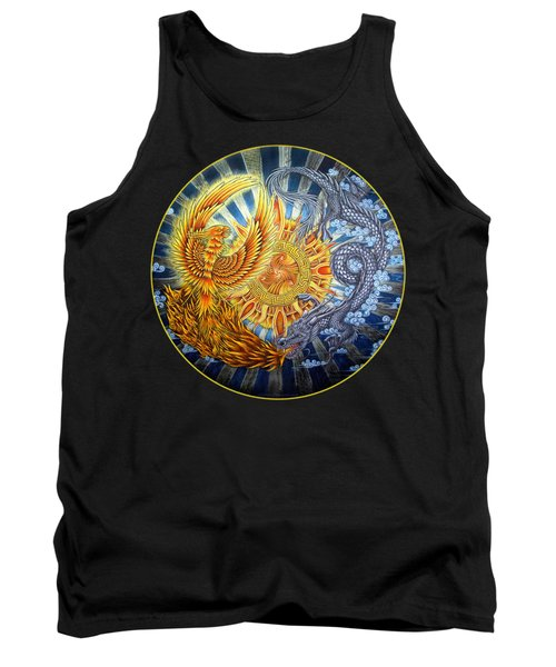 Phoenix And Dragon Tank Top