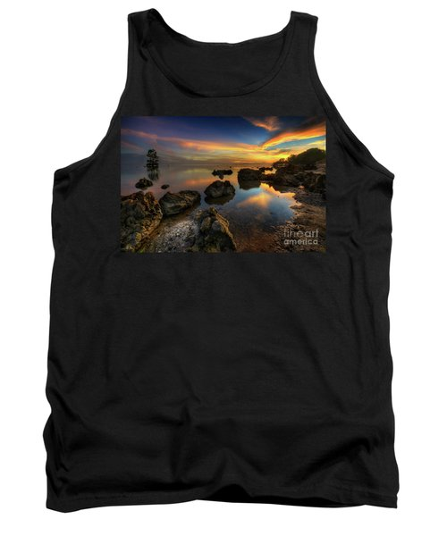 Tank Top featuring the photograph Phoenix Nights 4.0 by Yhun Suarez