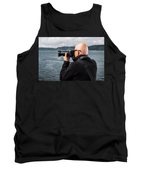 Photographer At Work Tank Top
