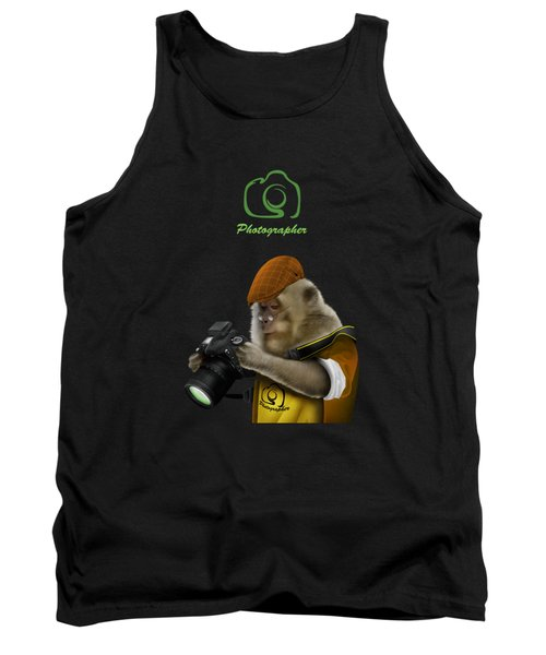 Photography Is Language That Can Be Understood Tank Top