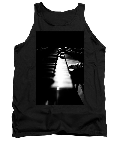 Piano Player Tank Top