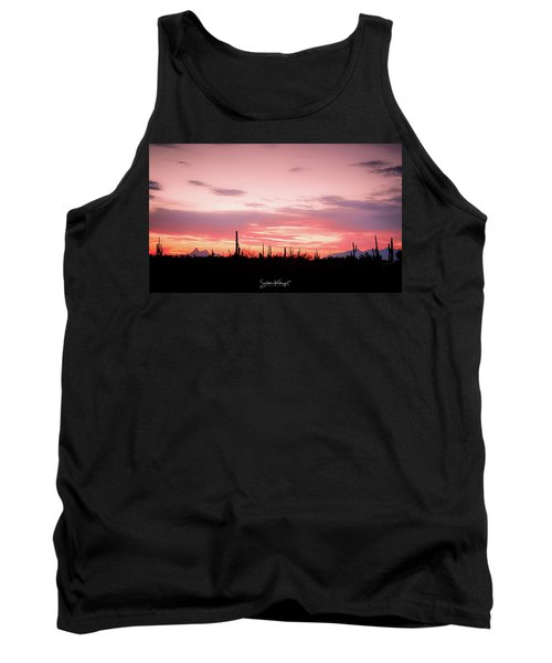 Picacho Sunset Tank Top