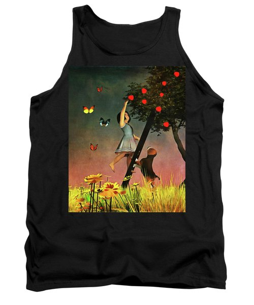 Picking Apples Together Tank Top