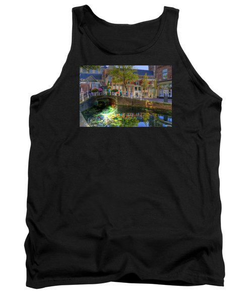 Picturesque Delft Tank Top by Uri Baruch