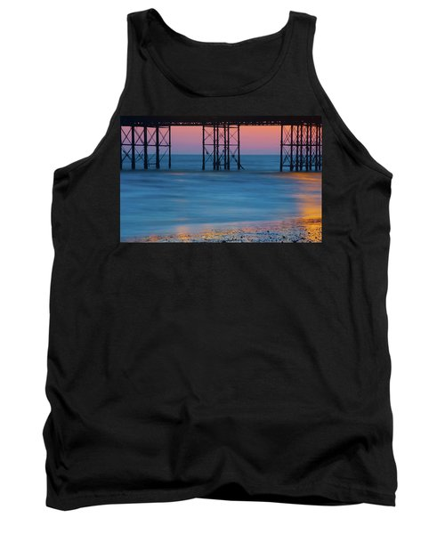 Pier Supports At Sunset I Tank Top