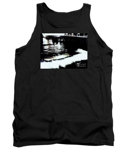 Tank Top featuring the photograph Pier by Vanessa Palomino