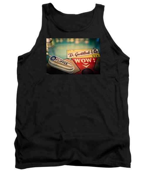 Pinball - Wow Tank Top by Colleen Kammerer