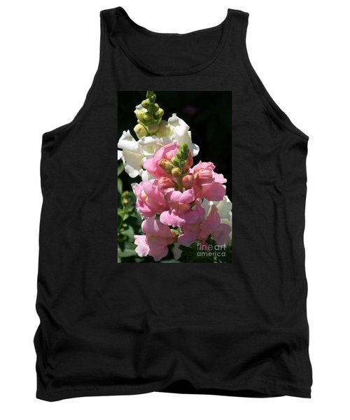 Tank Top featuring the photograph Sweet Peas by Eunice Miller