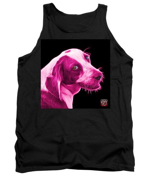 Pink Beagle Dog Art- 6896 - Bb Tank Top