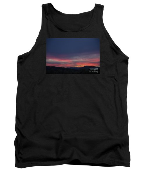 Tank Top featuring the photograph Pink Clouds by Alana Ranney