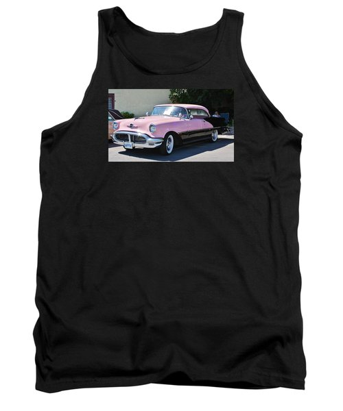 Pink Is A Color Tank Top by Al Fritz