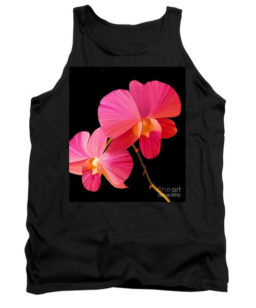 Pink Lux Tank Top by Rand Herron