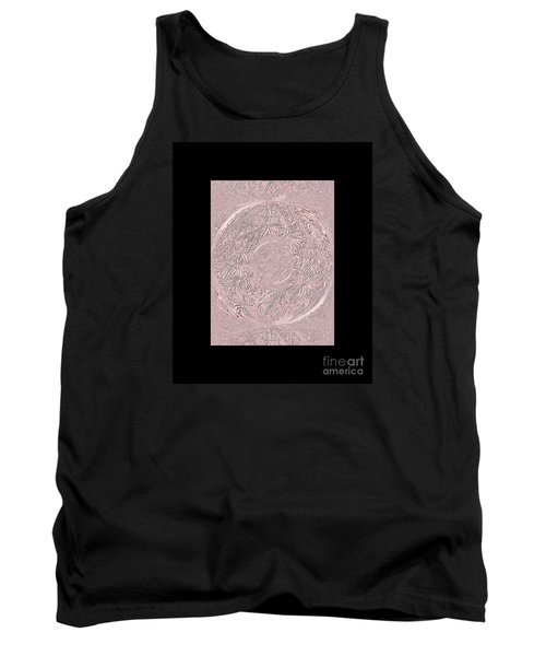 Tank Top featuring the digital art Pink Ring. Special by Oksana Semenchenko