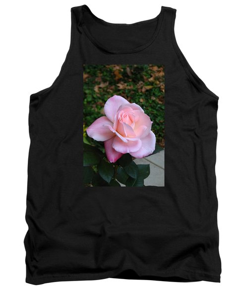 Tank Top featuring the photograph Pink Rose by Carla Parris