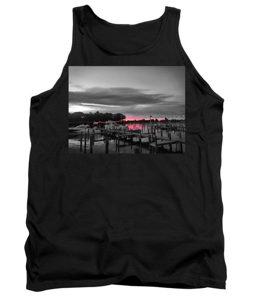 Pink Sunset Tank Top