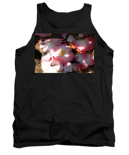 Pink Survivor Tank Top by Dennis Baswell