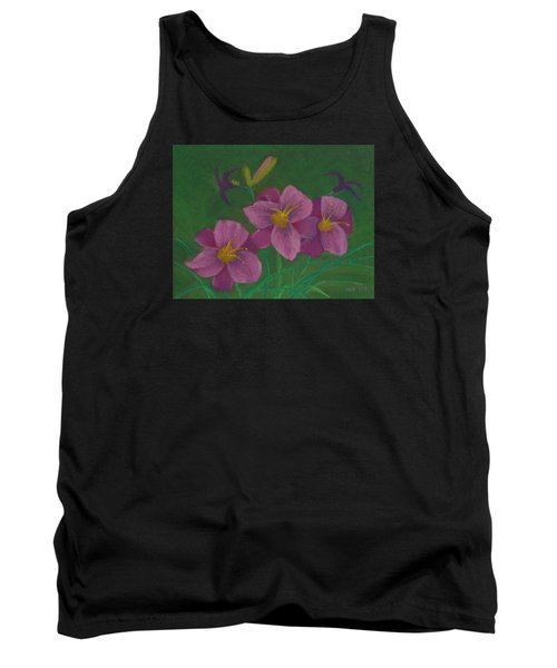 Pink Whispers Tank Top