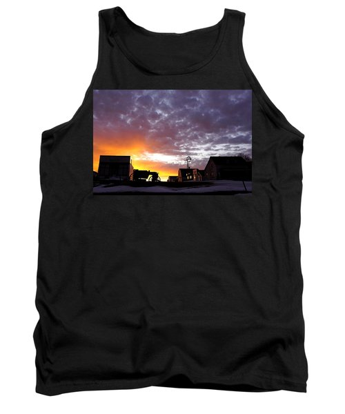 Pioneer Town Sunset Tank Top
