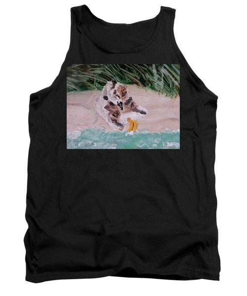 Piping Plover Chick 2 Tank Top
