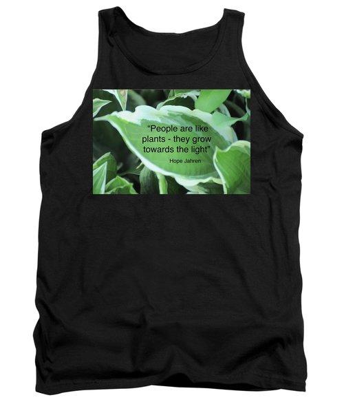 Plants Tank Top by Lisa DiFruscio