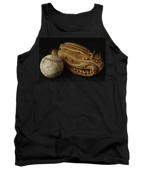 Play Ball Tank Top by Richard Rizzo