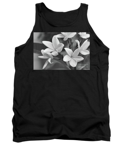 Plumeria Flowers Tank Top