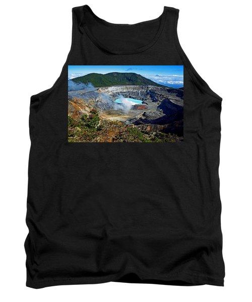 Poas Volcano Tank Top