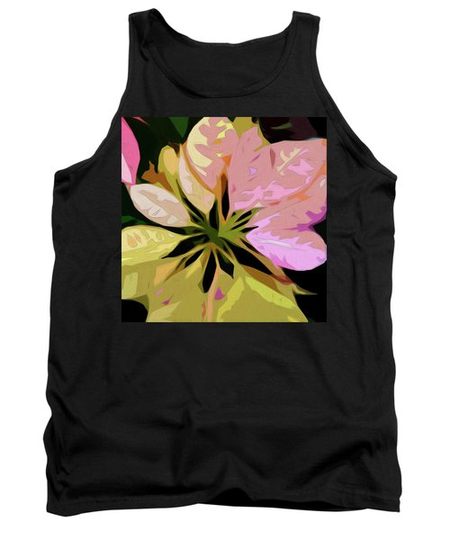 Poinsettia Tile Tank Top